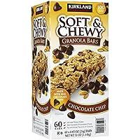 Kirkland Soft and Chewy Granola Bars - Chocolate Chip - 60 Bars