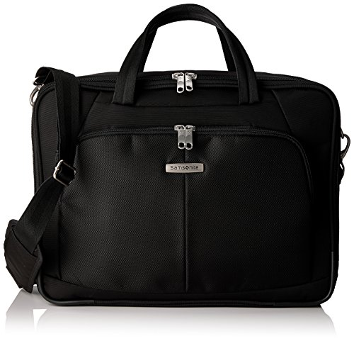 "Samsonite Cartella Intellio Briefcases Bailhandle 17.3"" Exp 20 liters Nero (Black) 56330-1041"