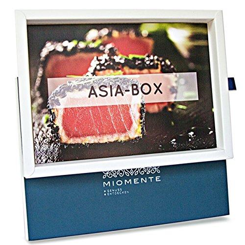 Produktbild Miomente ASIA-Box: Asia-Kochkurs Gutschein - Geschenk-Idee Erlebnisgutschein