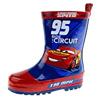 Disney Boys Cars 3 Wellington Boots Rubber Wellies