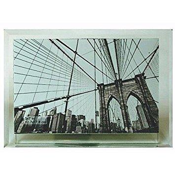 Sixtrees Manhattan abgeschrägte Glas Rahmen für Ihr 7x 5Print-5x 7 -