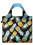 LOQI Juicy Einkaufstasche / Reisetasche Reise-Henkeltasche, 50 cm, Pineapples
