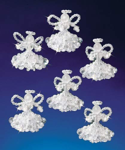 Beadery Kunststoff Holiday Perlen Ornament Kit Kristall Angels 2Macht 6 -