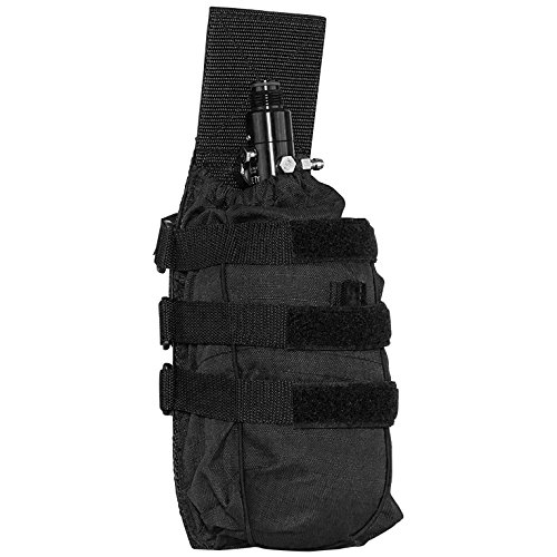 Valken Tactical V-TAC Universal Tank Pouch, Black, One Size