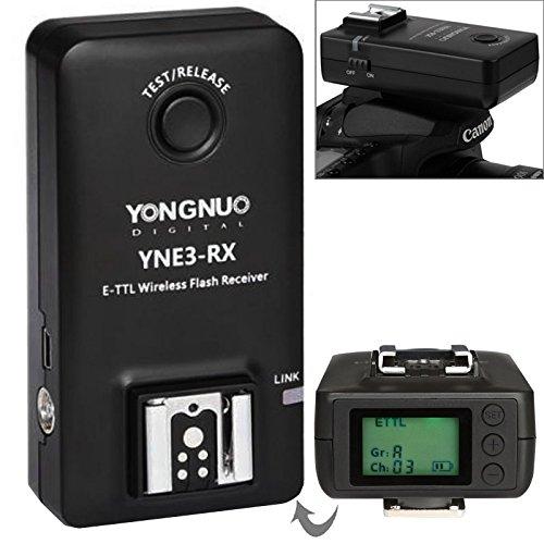 Easy Go Shopping YN-E3-RX e-TTL-Funkempfänger kompatibel YONGNUO YN568EX II / YN565EX II / YN600EX-RT/Canon 580EX II / 600EX-RT / YNE3-RX Kamerazubehör