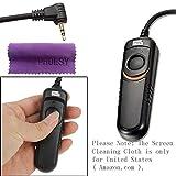 Pixel RC201/E3 Cable para obturador con mando para cámaras réflex Canon EOS