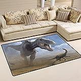 coosun Tyrannosaurus Dinosaurier Art Bereich Teppich Teppich rutschfeste Fußmatte Fußmatten für Wohnzimmer Schlafzimmer 78,7x 50,8cm, Textil, multi, 31 x 20 inch