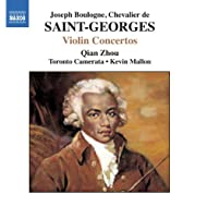 Saint-Georges: Violin Concertos No. 1, Op. 3 And Nos. 2 And 10