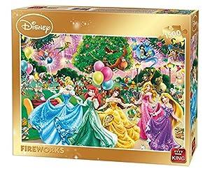King Fireworks 1500 pcs Puzzle - Rompecabezas (Puzzle Rompecabezas, Dibujos, Niños, Niño/niña, 8 año(s), Cartón)
