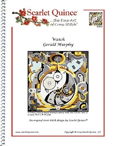 Scarlet Quince MUR002 Watch by Gerald Murphy Counted Cross Stitch Chart, Regular Size Symbols by Scarlet Quince