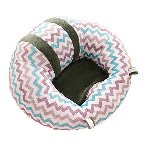 SMARTRICH - Silla sentada para bebé, sofá Seguro con Forma de U para bebés de 0 a 6 Meses, 4#, 43x43x20cm...
