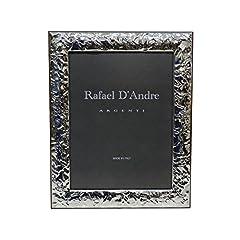 Idea Regalo - Cornice Portafoto Lucida Effetto Stropicciato cm 18x24 in Argento