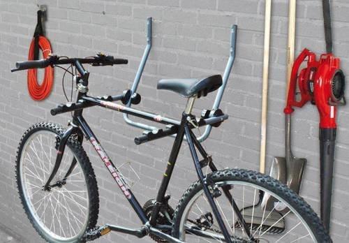 Support mural pour vélo Pour 2 vélos