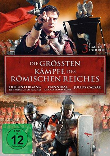 Die größten Kämpfe des Römischen Reiches [3 DVDs]