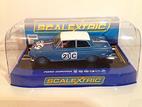 Scalextric - C3670 - Ford Cortina GT 1964 Bathurst Ian & Leo Geoghegan