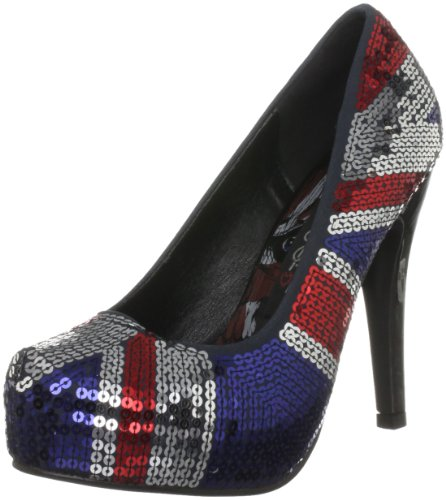 Iron Fist Jacked Up, Damen Pumps Blau (Multi)