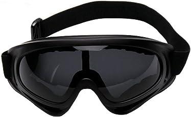 Sijueam Airsoft Metallgitter Schutzbrille Brille Anti Fog Paintball für Outdoor Sport Radfahren