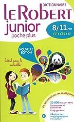 Le Robert Junior Poche Plus French Dictionary: Flexi Binding