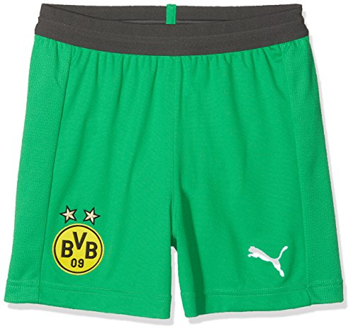 Puma Kinder BVB Replica Jr mit innerslip Hose, Bright Green, 176