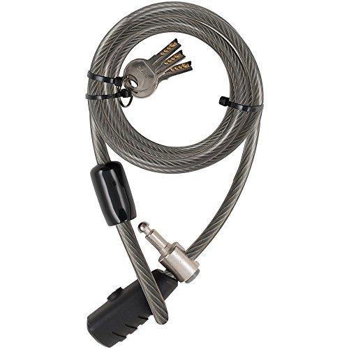 Gebraucht, Stanley Family Kabelschloss extra lang (10x2400, 3 gebraucht kaufen  Wird an jeden Ort in Deutschland