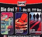 Die Drei Fragezeichen 3 ??? CD 22. Box 64 65 66  22/3er