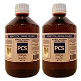 2 x Colloidal Silver 25ppm 500ml (Includes Fast & Free P&P) [2