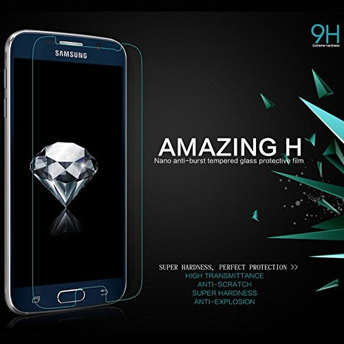 Nillkin 9H Extreme hardness nano anti-burst Tempered Glass Protective flim for SAM galaxy S6