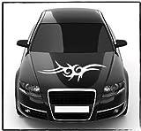DD Dotzler Design - 2405_04 - Aufkleber für Motorhaube oder Heckscheibe - Breite 80 x 26 cm - Autodekor Autoaufkleber Car Tattoo Aufkleber Auto Car Tribal