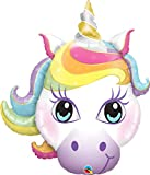 Unbekannt Qualatex 57352 Supershape Magical Einhorn Folienballon, 96,5 cm