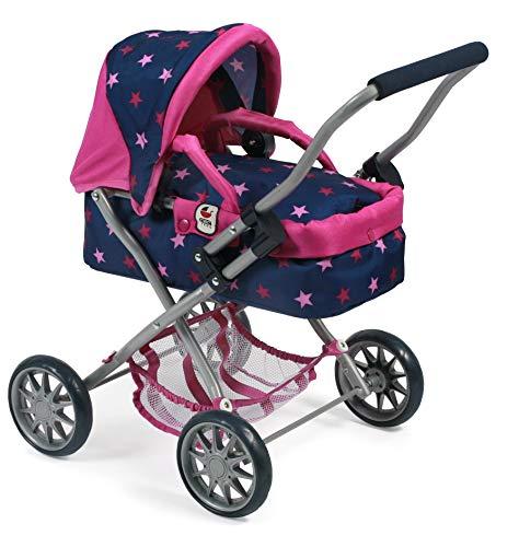 Bayer Chic 2000 555 72 Smarty - Carrito para bebé, diseño de Estrellas, Color Azul Marino