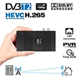 Crypto Redi 30P Mini DVBT2 Full HD Receiver mit H.265/HEVC,...