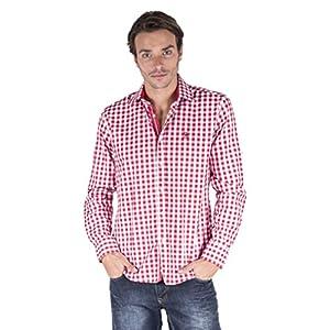 GIORGIO DI MARE Camicia Uomo Rosso/Bianco 3XL 11 spesavip