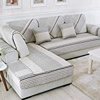GFF Reversible Sofa, Sofabed, Printed Cotton, Protective Cover, Dog Sofas, Sofas Dog, Anti-Slip Sofas, 110 x 240 cm (43 x 94 in)