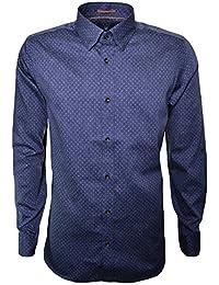 Ted Baker Men's Blue Jakee Long Sleeve Shirt