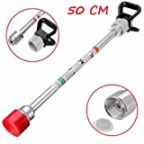 EsportsMJJ 50cm Airless Paint Sprayer Gun Tip Extension Rod For Graco Wagner Titan With Tip Guard