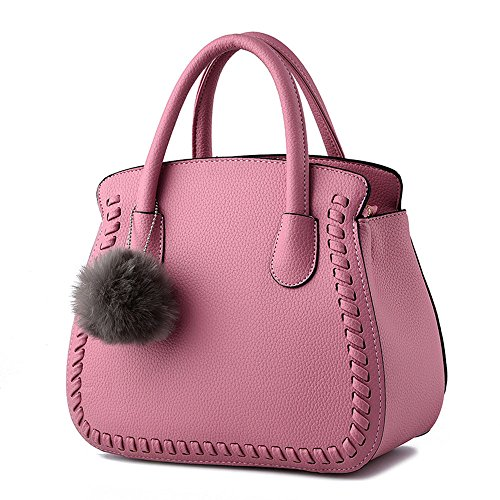 Viola scuro Borse a mano Donna Fashion Borsetta per Ragazze Pink Borsa