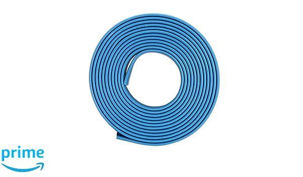Sourcingmap Heat Shrink Tube 2 1/Tube disolation /électrique c/âble fil de tube Gaine Wrap Bleu 15/mm de diam/ètre 1/m de long