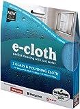E-cloth - Confezione doppia di panni lucidanti per vetri ed elettrodomestici