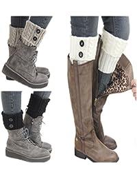 Calcetines de lana para el interior de las botas de Santwo, 3 pares, ideales