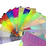 MA87 Nagel-Aufkleber Nagel Kunst DIY Nagel Dekoration Nail Reflections Tape Klebefolien 16tlg