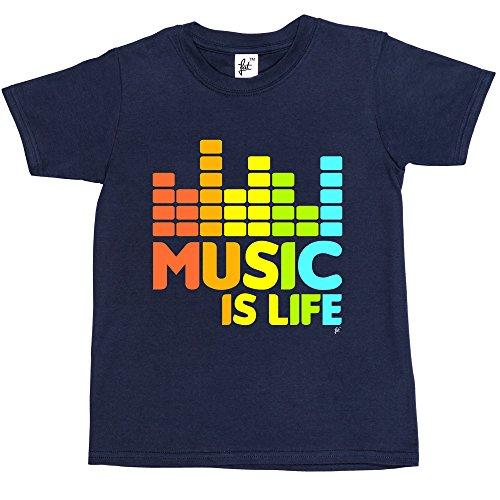 music-is-life-hip-hop-dance-grunge-garage-rock-kids-boys-girls-t-shirt-size-3-4-year-old-colour-navy