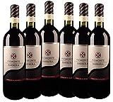 6 x 0,75 Litern - Cavalieri di Moasca Barbera Piemonte 2009 Rotwein - 750ml