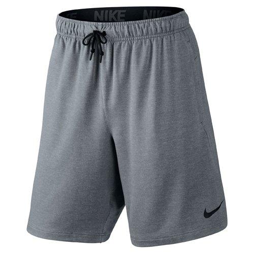 Nike Herren Oberbekleidung Dri-FIT Fleece 8 Zoll Shorts, grau, M, 817417-065 (Nike Top Frauen Fleece)