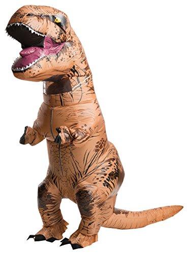 d Adult Inflatable T-Rex Costume With Sound STD (Jurassic World T Rex Kostüm)