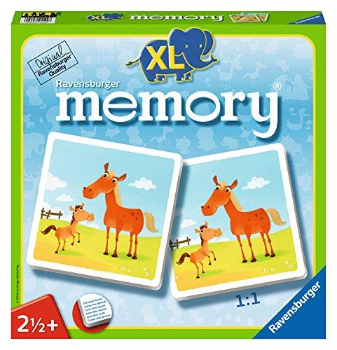 Ravensburger 21122 - Mein erstes XL memory Tiere - Karte-spiel Affe