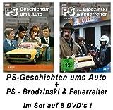PS - Geschichten ums Auto + Franz Brodzinski & Feuerreiter (8 DVDs)