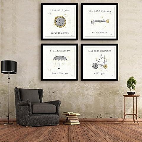 Modylee Artículos para el diario uso enmarcado en cuadro decorativo linóleo salón dormitorio cuadros PCS1 Cuadro en Lienzo ,