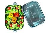 Alpin Loacker Edelstahl Lunchbox auslaufsicher und dicht. Die Dichte Brotdose
