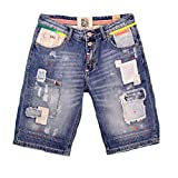 Wiya Jeans Short mit Patches (S)