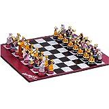 Micky Maus und Freunde Schachspiel Mickey Mouse Groesse: 44 x 44 cm, Lieferumfang: Spielfiguren ca.7 cm